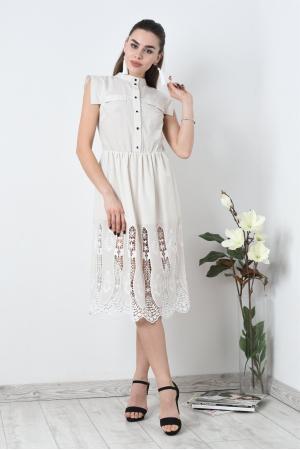 Платье рубашка из тонкого хлопка