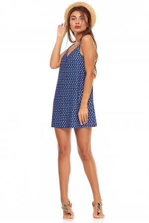 Платье из хлопка в бельевом стиле