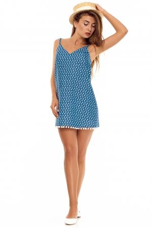 Платье комбинация из тонкого хлопка