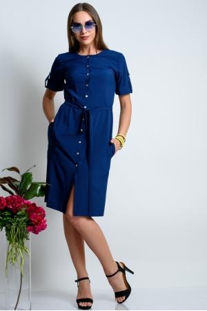Летнее платье кардиган с коротким рукавом