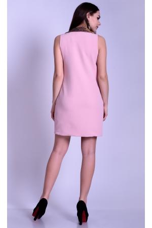 Платье жилет с двубортной застежкой