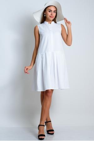 Свободное платье с заниженной линией талии