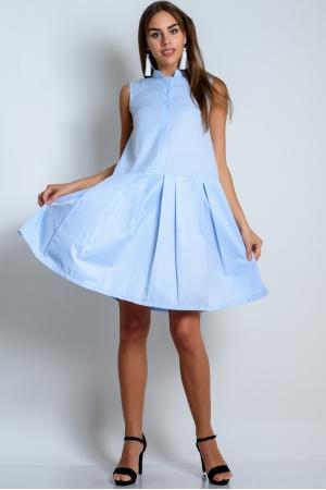 Свободное платье из летнего хлопка