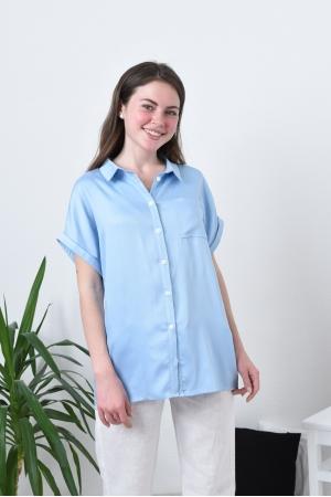 Женская рубашка свободная